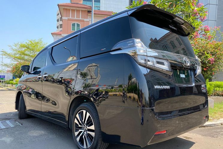 Toyota Vellfire 2.5 g At