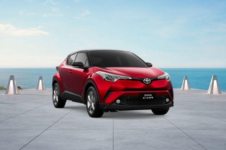 Toyota C-Hr  Hv A/t Dual Tone