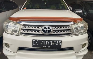 TOYOTA FORTUNER G 2.7 AT