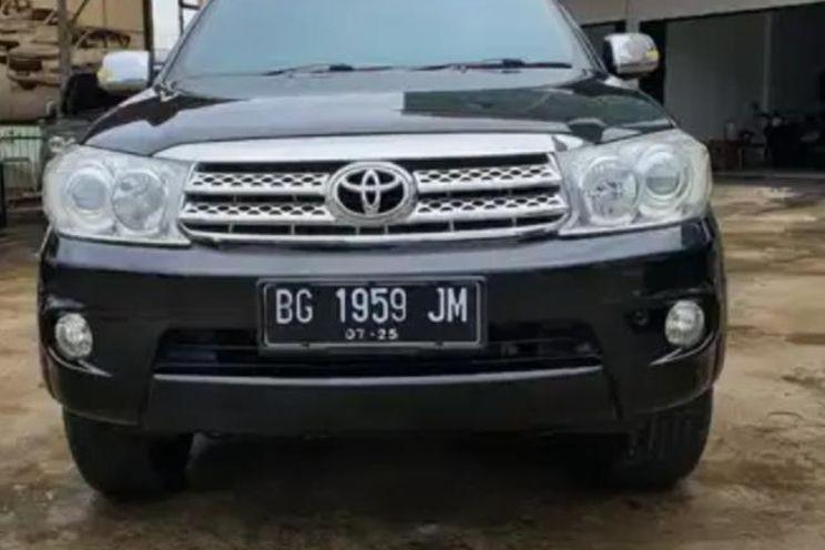 Toyota Fortuner g 4x2 Mt